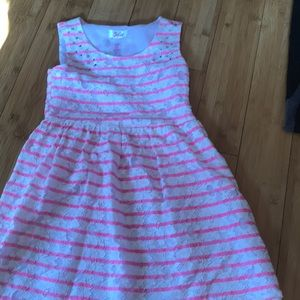 Justice back to school dress size 8